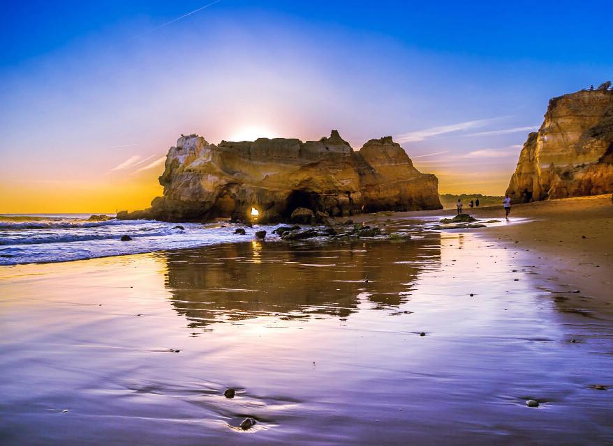 Sunset in the Algarve, Portugal