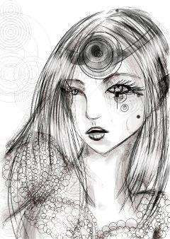 drawing draw pencil art black & white