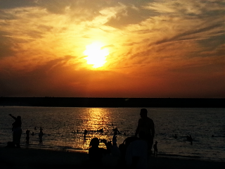 beach nature summer pretty beautiful sunset