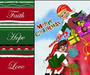 gdholidaycard colorful christmas drawing