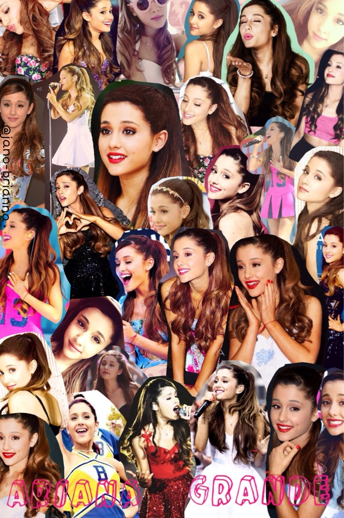 Ariana grande collage - Photo by 💩Janoskians🐷