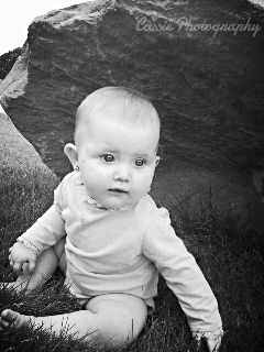 photography cute baby nature kids black & white