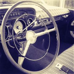 photography buick cars vintage sepia
