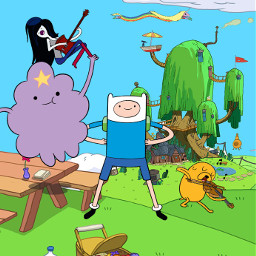 adeventure time finn and jake marceline lsp