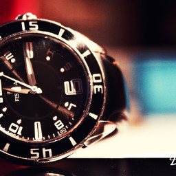 watch time photography black