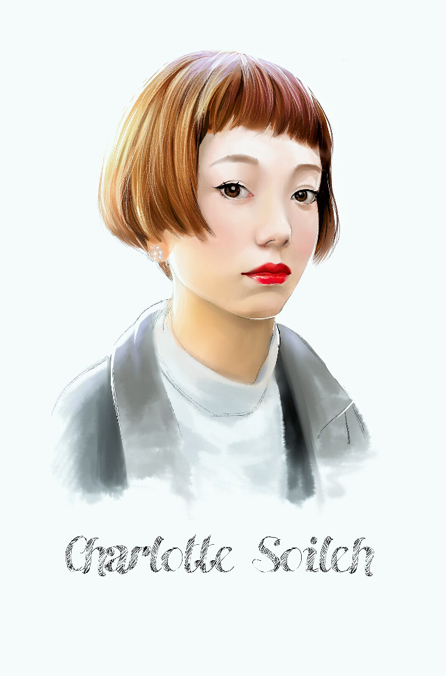 Painted in MyPaint on Surface Pro. Referenced from a tokyofashion.com photo.