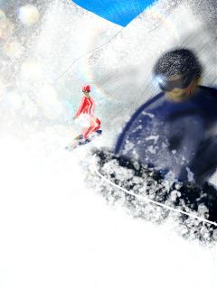 drawing dcwintersports phoneart sports snow