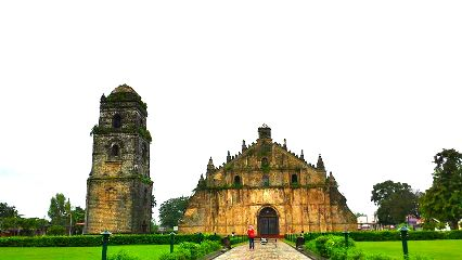 church vintage interesting travel photography philippines