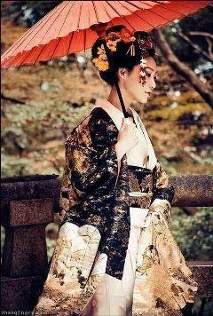 japan beautiful kimono geisha