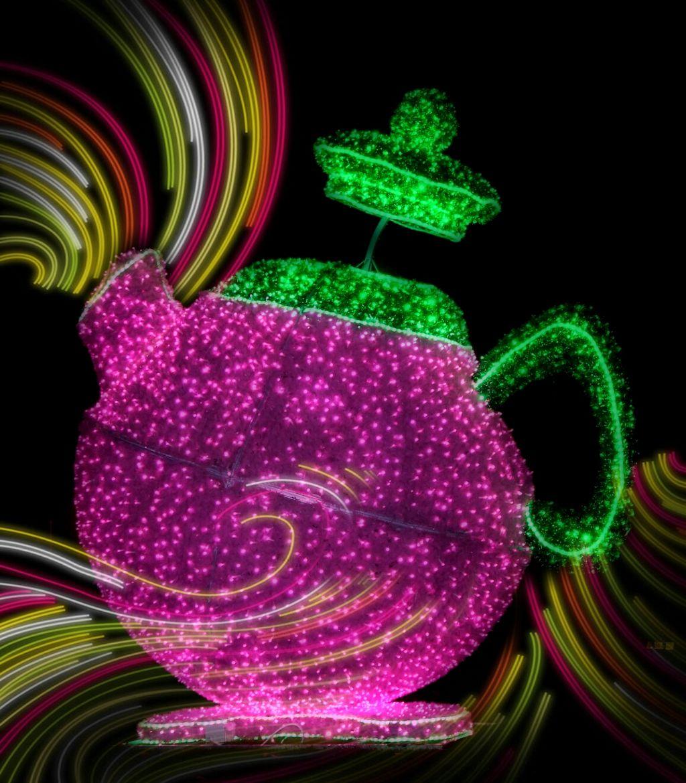 #Teapot  #lights  #Alice  #Wonderland