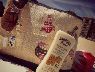 beach warm sun summer tan tanning