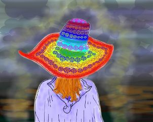 colorful emotions cute dchat pencil art people