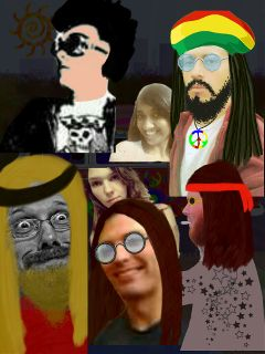 photography drawing people hippie
