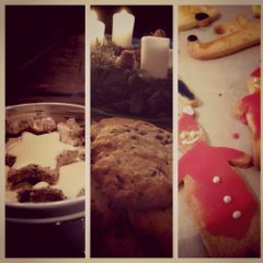 cookie xmas christmas food emotions
