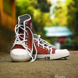 photography colorful hdr shoe red
