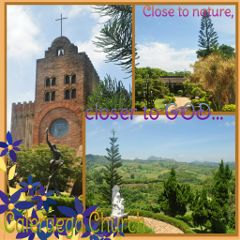 caleruega church tagaytay photography collage hdr