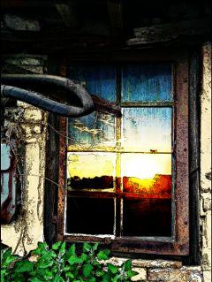 sky fun with fx colorful sunset sky window