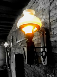 photography light lamp black & white