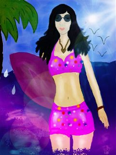 drawing beach dcbeach