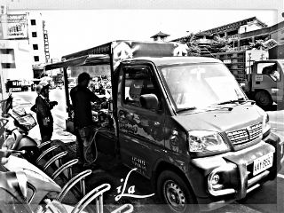 photography black & white hdr people cars