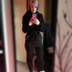 black leggings colorhair