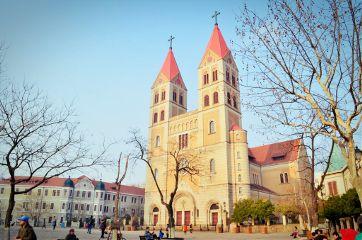 travel china life building church qingdao